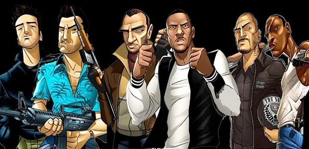 Check Out the Evolution of the GTA series